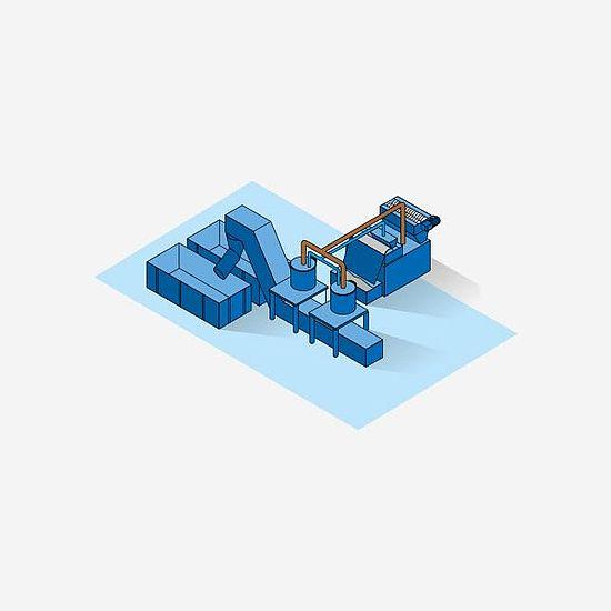 Системы обработки стружки