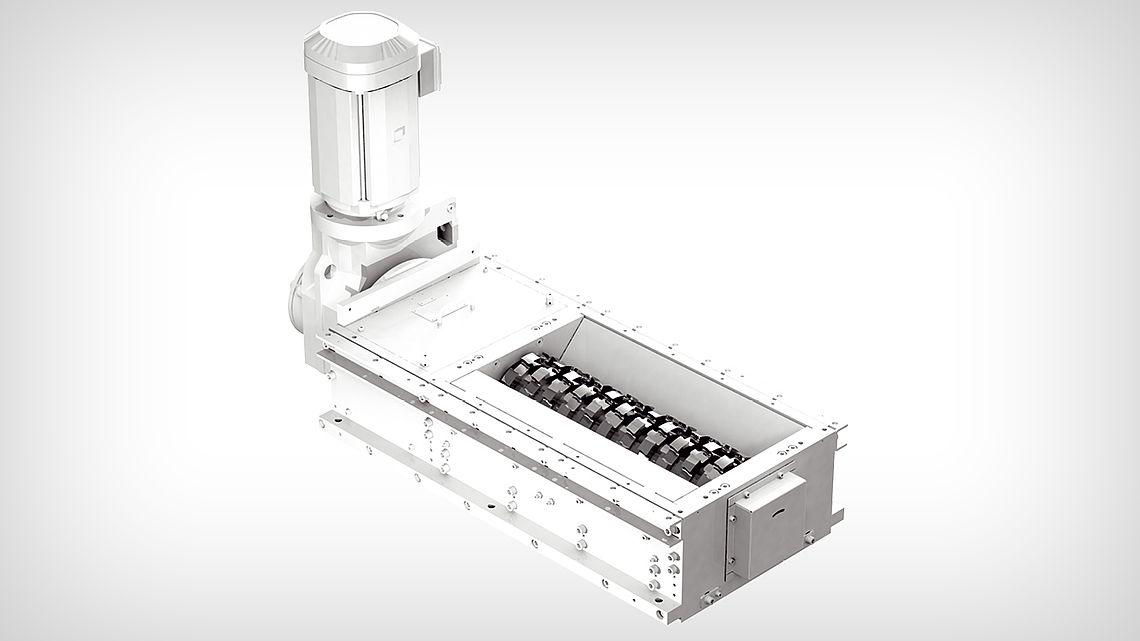 Дробильная установка ZV-J - с одним валом с двусторонними лезвиями