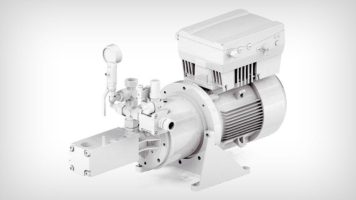 Горизонтальный насосный агрегат KTS