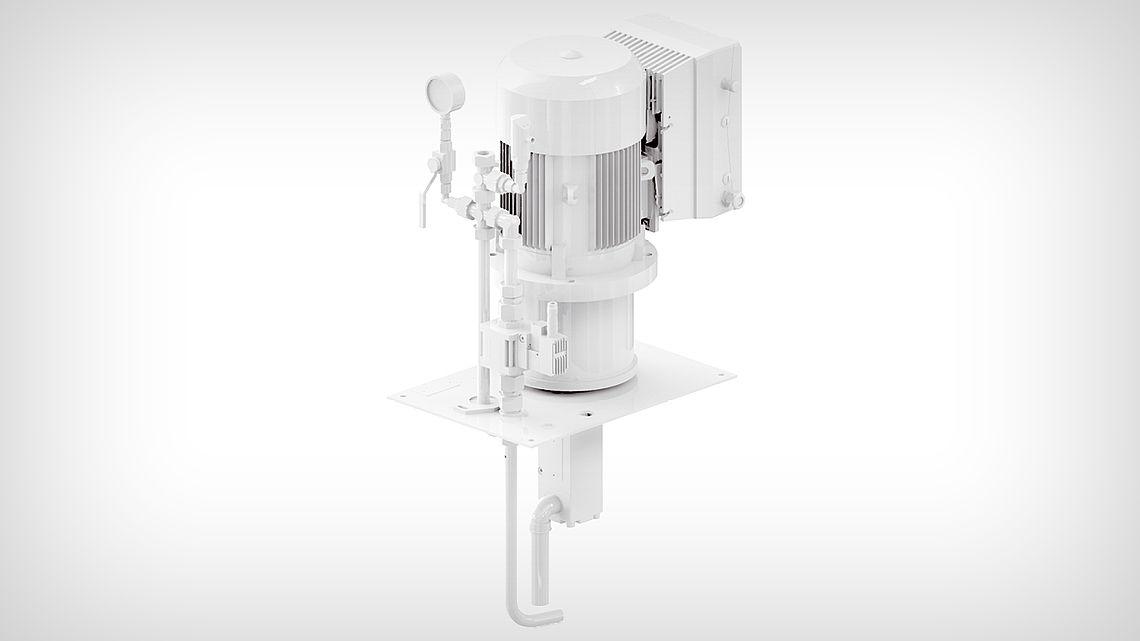 Вертикальный насосный агрегат KTS