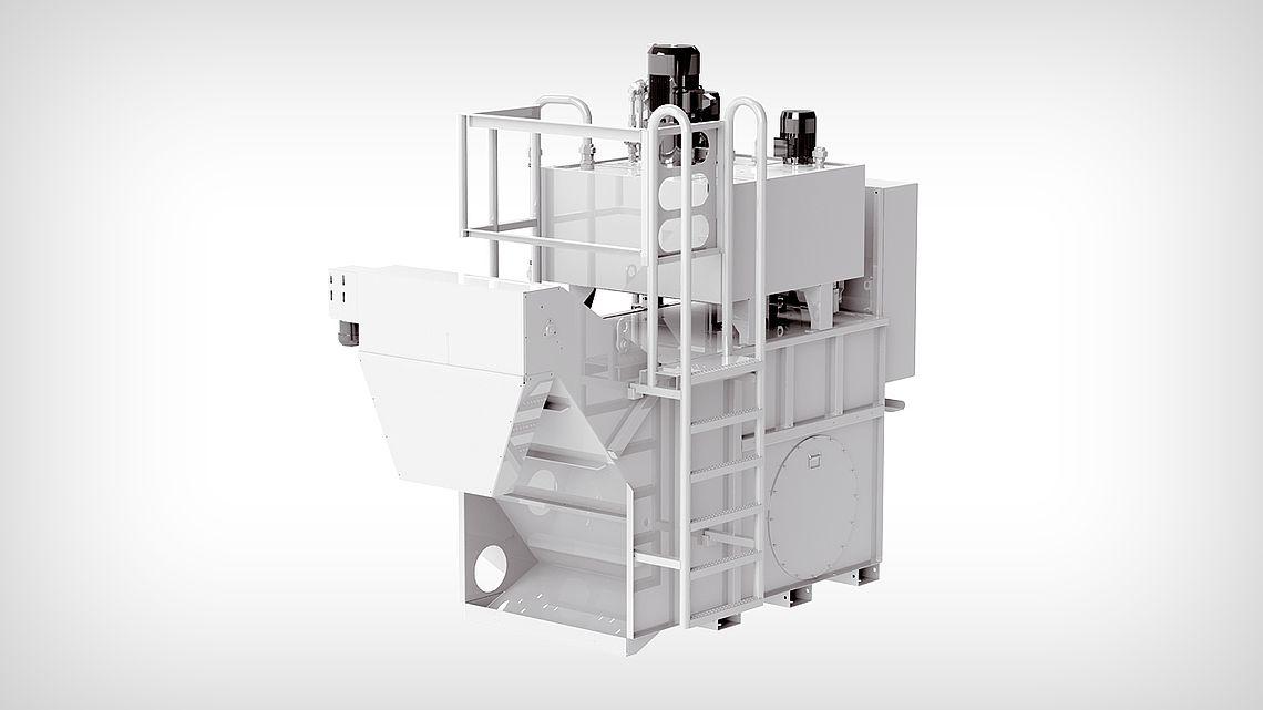 Фильтровальная установка: Ротационный вакуум-фильтр VRF 450